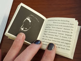 "Handmade Miniture Companion Book for full legnth album ""Obelisk"" photo"