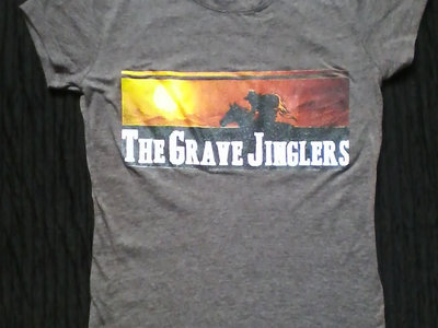 Grave Jinglers T-shirt (Horse Logo) + Reign of West LP (download) main photo