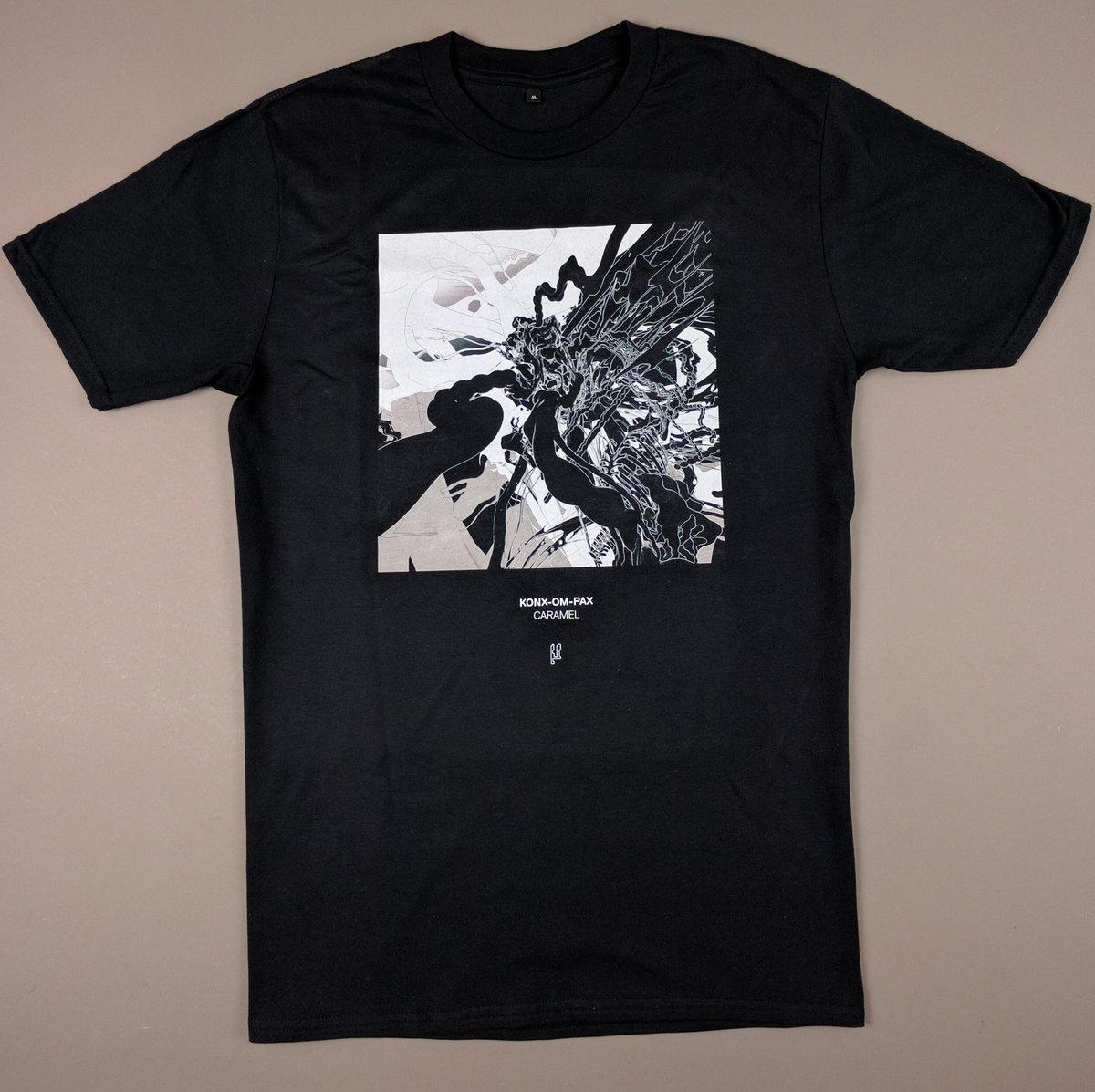 Shirt design resolution - Limited Edition Konx Om Pax Caramel T Shirt Design By Tom Scholefield High Resolution Digital Print T Shirt Fabric 100 Ring Spun Cotton Pre Shrunk Jersey