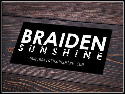 Braiden Sunshine Sticker main photo