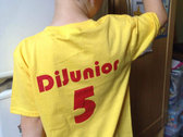 Kids Band Logo T-Shirt (with 'Dijunior 5' on the back) photo