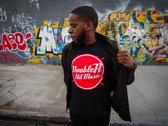 Double A Hit Music T-Shirt - Black (w/ Red & White Logo) photo