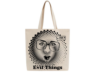 """Me...Evil?!"" ToteBag main photo"