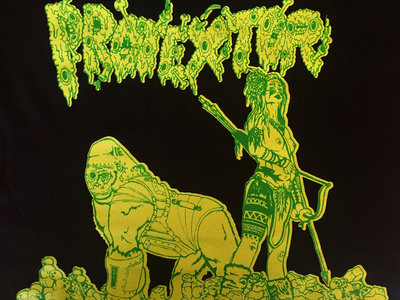 Wasteland Warriors T-Shirt (LIMITED Slime Green Edition) main photo