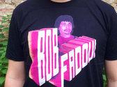 Fadoul aka Bob Fadoul T-Shirt (Big Print, Black Shirt) photo