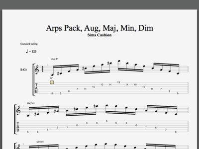 Maj, Min, Aug, and Dim Shapes Pack main photo