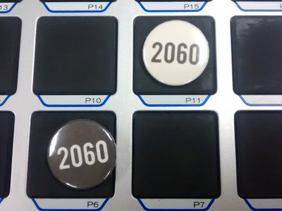 2060 Button (Black) main photo