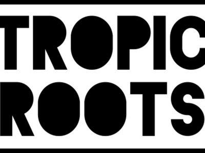 Tropic Roots Sticker-White main photo
