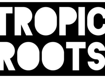 Tropic Roots Sticker-Black main photo