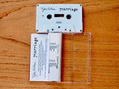 Tyler Holmes - Marriage CASSETTE photo