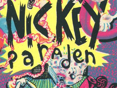 NICKEY PARADEN | Livre sérigraphie (ed. Le Dernier Cri) main photo