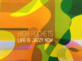 """Screen-printed Cover Art + Album from Visiting Cat """"Life is Jazzy"""" photo"""