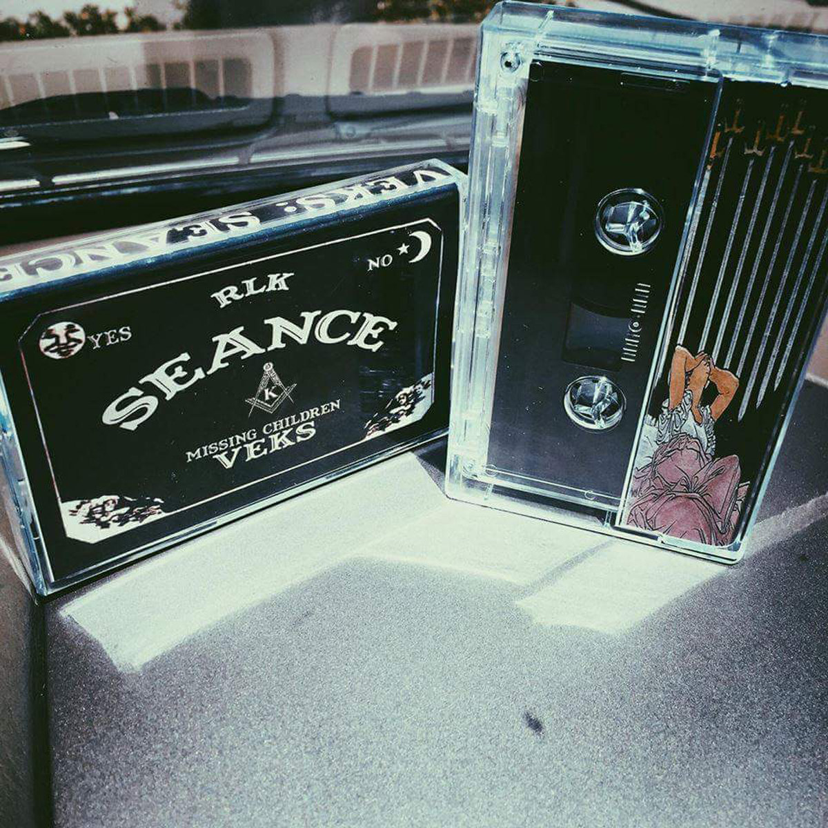 Very Limited Edition Cassette Only 50 Available On Black Cassettes With Color Print Inserts And Label