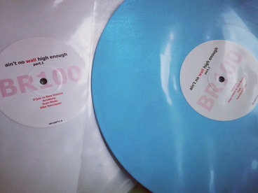 "3 x 12"" - Limited Edition Triple Colored Vinyl - Blue / White / Black main photo"