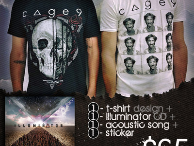 Merch Bundle: T-shirt, CD, sticker and acoustic download! main photo
