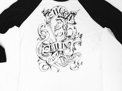 """Smooth Sailing """"Octomom"""" Baseball 3/4 Sleeve T-shirt main photo"""