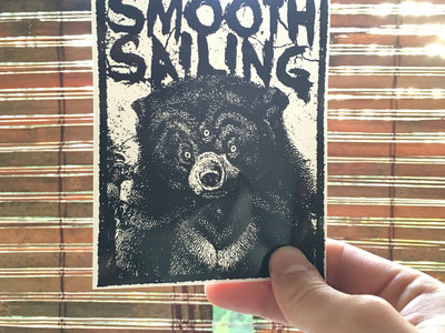 Smooth Sailing 3 Eyed Bear Sticker main photo