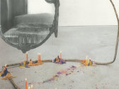 TEMPERS x SANG BLEU - collage art + lyrics booklet photo