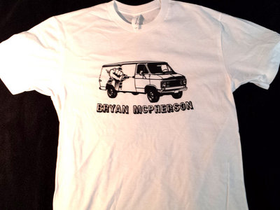 """Fight The Power van"" on Soft Cotton T-shirt - EXTRA EXTRA LARGE main photo"