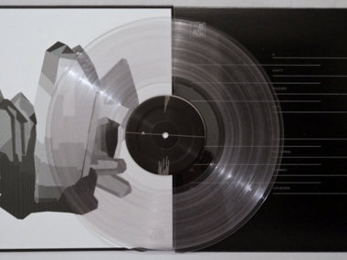 "Lower Spectrum - TRACES EP 12"" Clear Vinyl main photo"