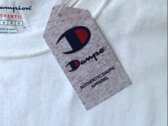 Authentic Daupe / Champion Limited edition T - Shirt WHITE 1/100 photo