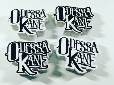 2 Odessa Kane Logo Stickers main photo
