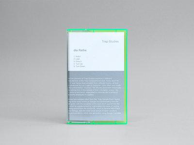 ANM016 die Reihe — Trap Studies Cassette main photo