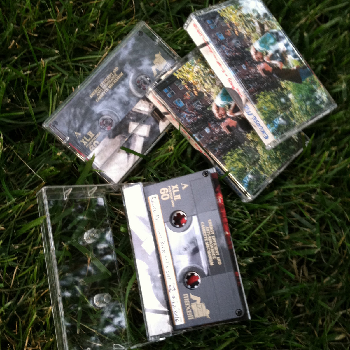 Homemade cassette tape features audio not found on the digital edition. Hand-numbered! Each package is slightly different. Cassette tape type varies.