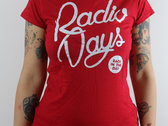 """""""Back in the Day"""" T-Shirt Red + Free Sticker photo"""