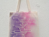 FRACTURES Tote Bag - 100% Organic cotton, Fair trade, Unbleached photo