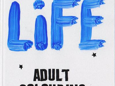 Fantastic Life Adult Colouring Book main photo