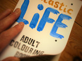 Fantastic Life Adult Colouring Book photo