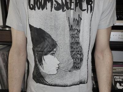 "T-Shirt ""Doubts Have Grown"" (grey) main photo"