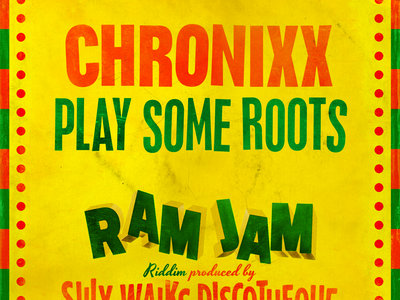 """Ram Jam Riddim - 7"""" Vinyl - Chronixx/RC main photo"""