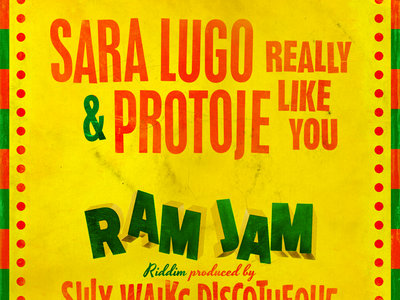 "Ram Jam Riddim - 7"" Vinyl - Sara Lugo & Protoje/Ras Demo main photo"
