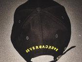 """""""NeverBackDown"""" Strapback hat photo"""