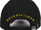 """NeverBackDown"" Dad Hat photo"
