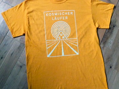 Kosmischer Läufer Gold T-Shirt main photo