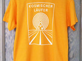 Kosmischer Läufer Gold T-Shirt photo