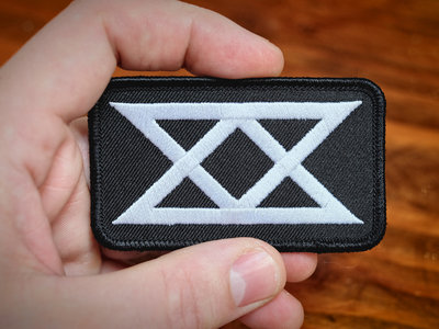 "Black Table ""Glyph"" Embroidered Patch main photo"