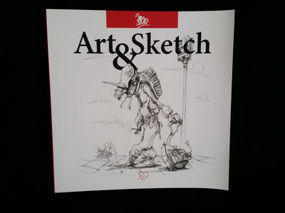 Art & Sketch #0 - EBO - [Livre - Book] main photo