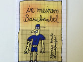 """In meinem Bauchnabel"" 12 pages full color comic book by Florian ""Pernille"" Lindsinger photo"