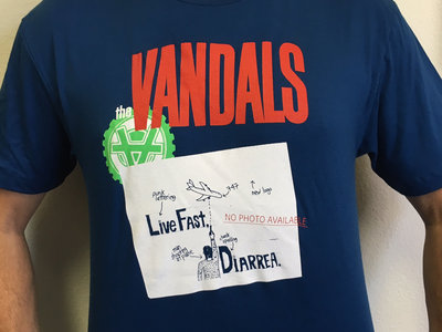 Vandals Live Fast Shirt main photo