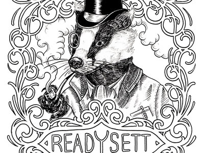 Ready Sett tee main photo