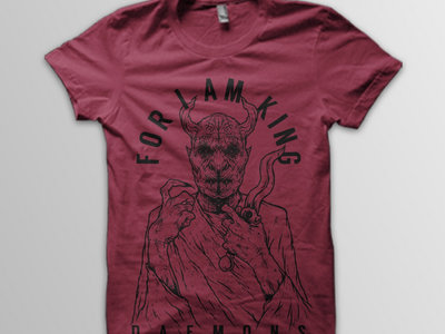 Daemons T-shirt (burgundy) main photo