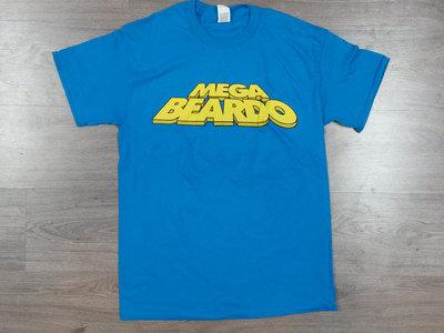 Mega Beardo T-Shirt - BLUE main photo