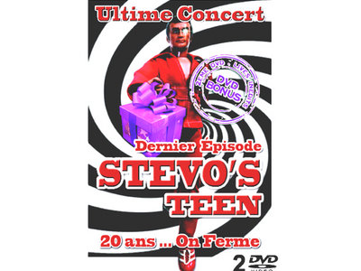 DOUBLE DVD LIVE STEVO'S TEEN 20 ANS main photo