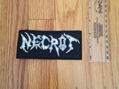 """Necrot - """"Logo"""" Embroidered Patch main photo"""