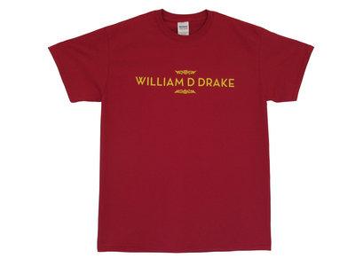 'William D Drake' logo T-shirt - Cardinal Red main photo