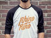 Super Awesome Super Smooth Rhinorino Baseball T Unisex photo